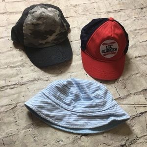 Other - Baby Boy/Toddler Hats (Baseball And Bucket)!